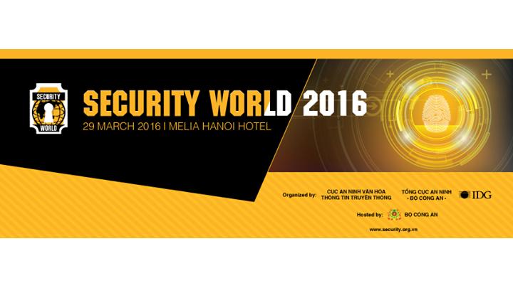 Đại diện #CSAVietnam trình bày tham luận tại Security World2016